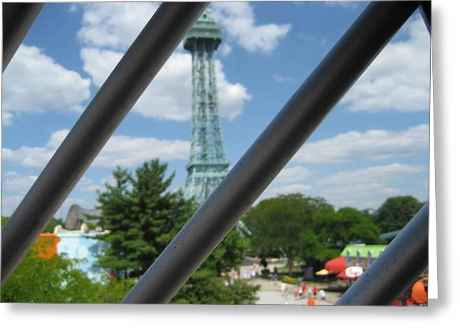 Kings Island - 121273 Greeting Card by DC Photographer