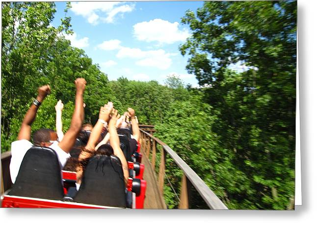 Ohio Greeting Cards - Kings Island - 12129 Greeting Card by DC Photographer