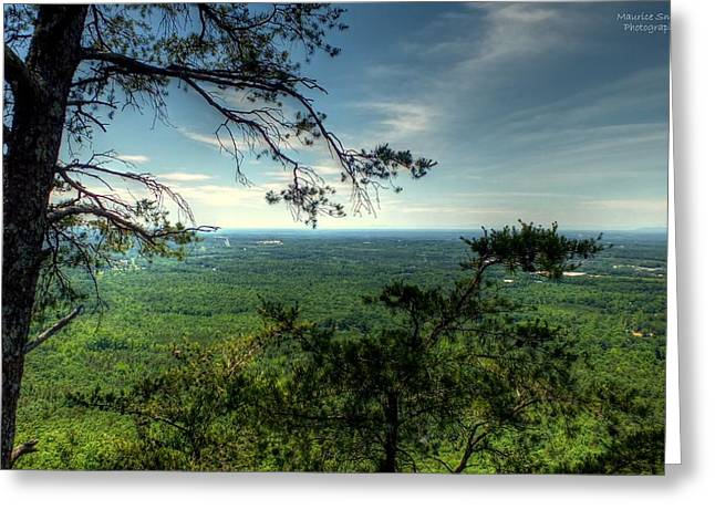 Gaston County Photographs Greeting Cards - Kings Pinnacle at Crowders Mountain Greeting Card by Maurice Smith