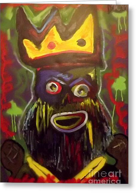 Rick Ross Greeting Cards - Kings Pride Greeting Card by Chris Carter