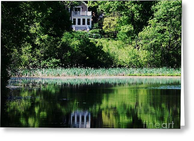 Party Invite Photographs Greeting Cards - Kingsbury Pond Greeting Card by Marcus Dagan