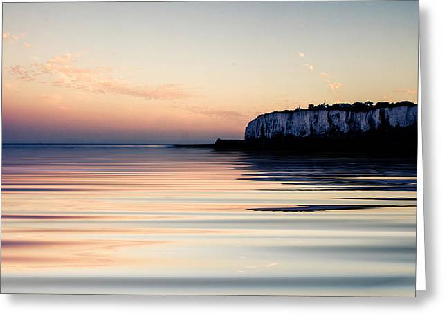 Calm Sea Greeting Cards - Kingsdown  Greeting Card by Ian Hufton