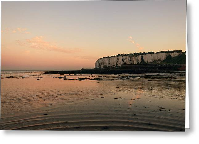 Seafront Greeting Cards - Kingsdown Kent Greeting Card by Ian Hufton