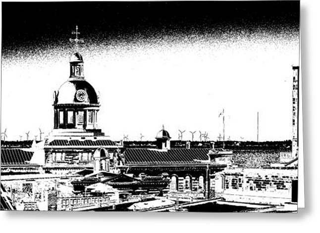 Kingston City Hall Greeting Cards - Kingston City Hall Greeting Card by Paul Wash