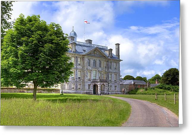 Lacy Greeting Cards - Kingston Lacy Greeting Card by Joana Kruse