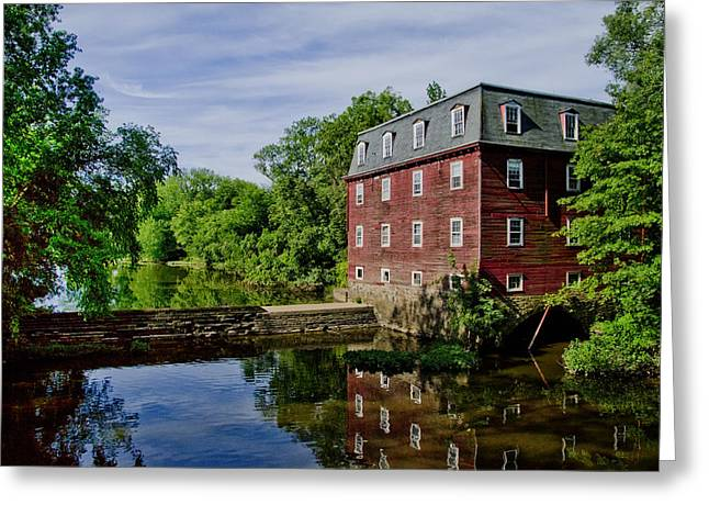 Kingston Greeting Cards - Kingston Mill near Princeton New Jersey Greeting Card by Bill Cannon