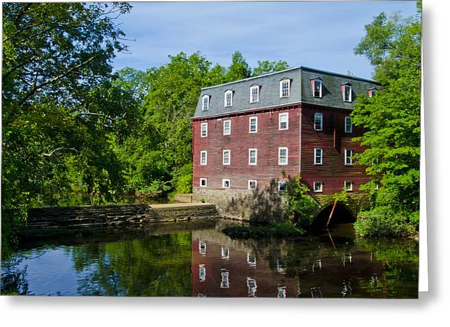 Kingston Greeting Cards - Kingston Mill Princeton NJ Greeting Card by Bill Cannon