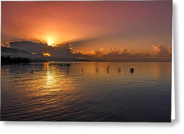 Kingston Greeting Cards - Kingston Morning Greeting Card by Lechmoore Simms