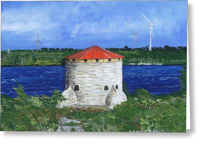 Kingston Greeting Cards - Kingstons Wars Greeting Card by Laura Moreland