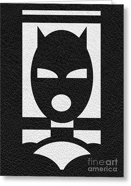 Bdsm Greeting Cards - Kink Play Mask Greeting Card by Roseanne Jones