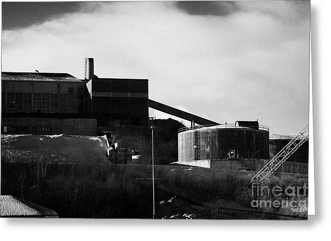 Finnmark Greeting Cards - Kirkenes Iron Ore Processing Separating Plant  Finnmark Norway Europe Greeting Card by Joe Fox