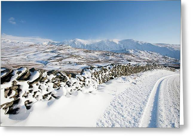 Kirkstone Pass Greeting Card by Ashley Cooper