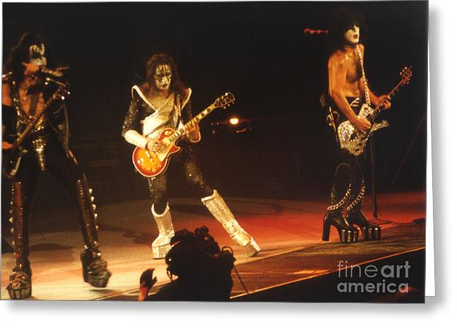 KISS-B33A Greeting Card by Gary Gingrich Galleries