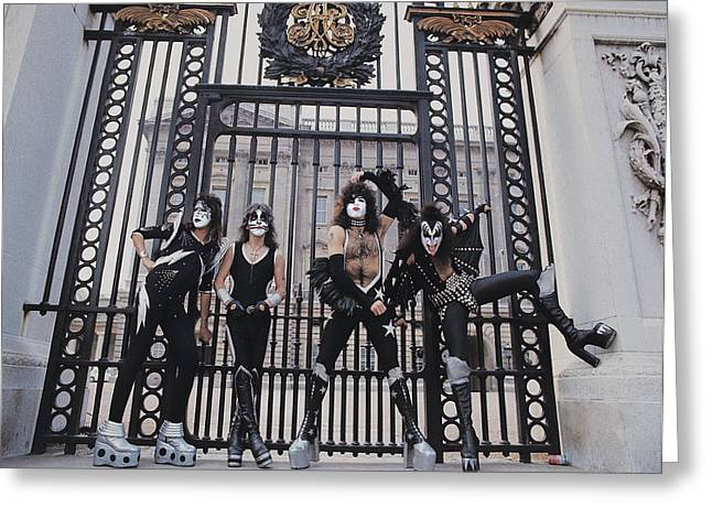 Kiss - Buckingham Palace Greeting Card by Epic Rights