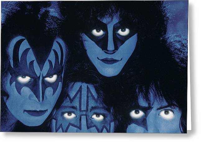 Kiss - Creatures From The Night Greeting Card by Epic Rights