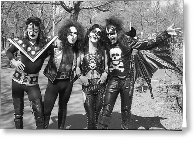 Kiss - Group Early Years Greeting Card by Epic Rights