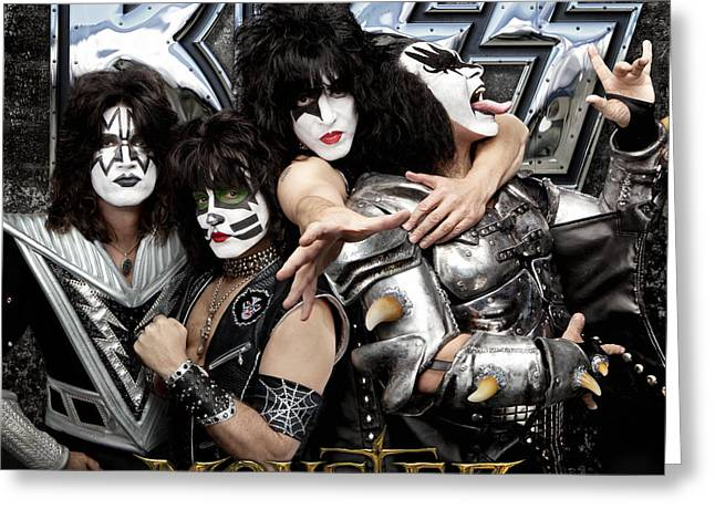 Peter Criss Greeting Cards - KISS - Monster (2012) Greeting Card by Epic Rights