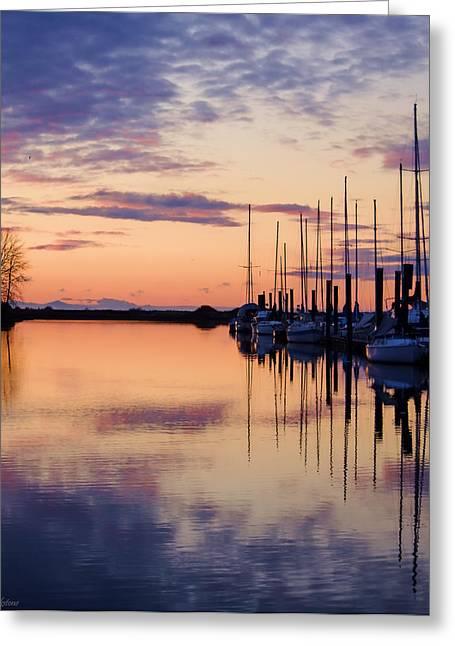 Sailboat Images Greeting Cards - Kiss Today Goodbye Greeting Card by Jordan Blackstone