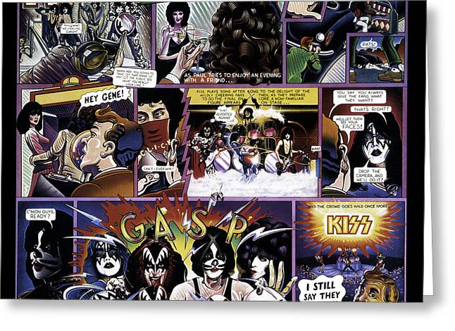 Peter Criss Greeting Cards - KISS - Unmasked Greeting Card by Epic Rights