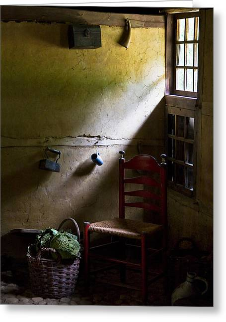 Dutch Greeting Cards - Kitchen Corner Greeting Card by Dave Bowman