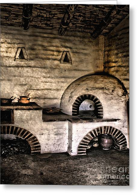 Danuta Bennett Photographs And Art Greeting Cards - Kitchen Greeting Card by Danuta Bennett