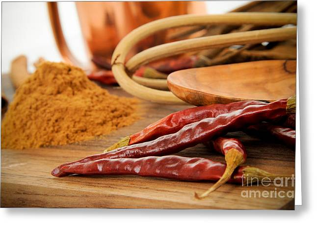 Clipping Path Greeting Cards - Kitchen Seasonings Greeting Card by Jt PhotoDesign
