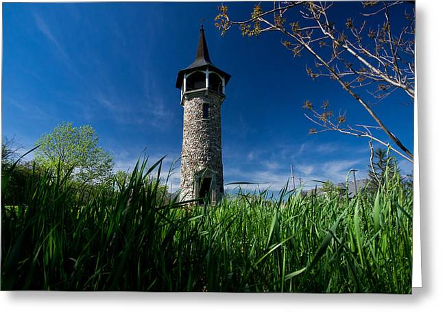 Pennsylvania Dutch Greeting Cards - Kitcheners Pioneer Tower Greeting Card by Cale Best