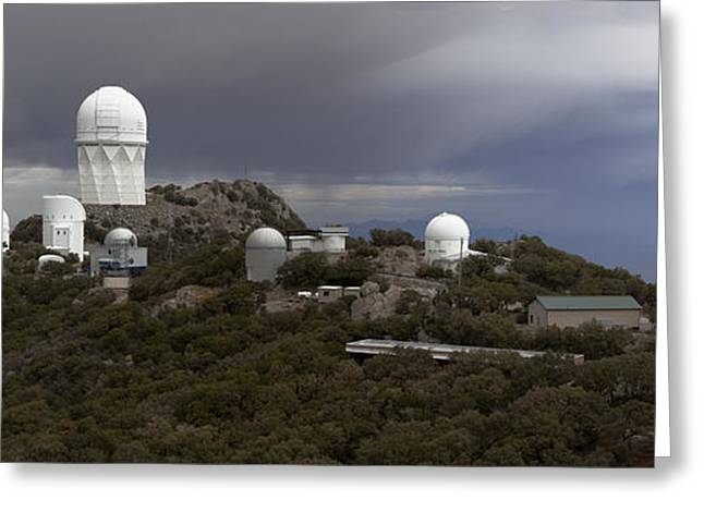 Quinlan Greeting Cards - Kitt Peak National Observatory Arizona Greeting Card by Patrick McGill