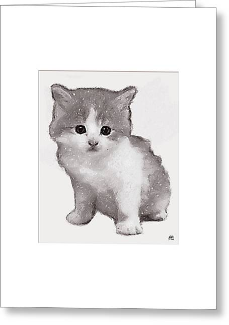 Classic Cats Greeting Cards - Kitty Greeting Card by Joaquin Abella