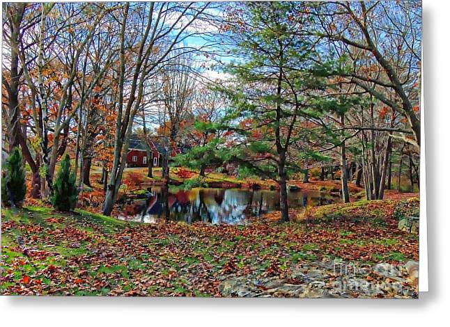 Stagnant Greeting Cards - Kittery Maine Greeting Card by Marcia Lee Jones