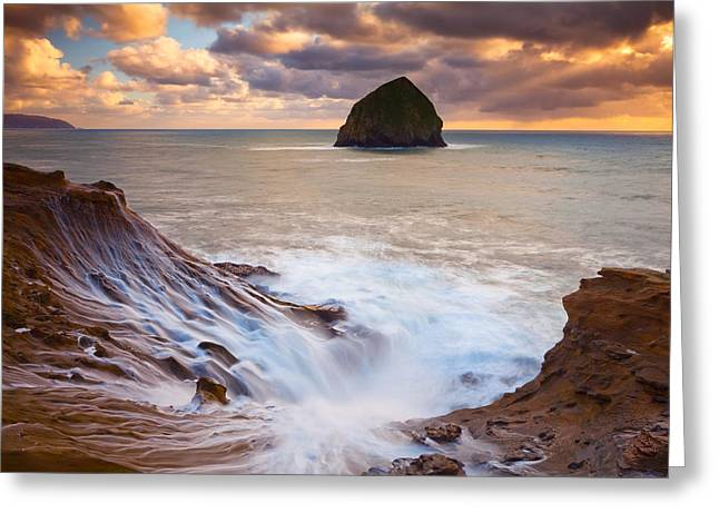 Pacific Northwest Greeting Cards - Kiwandas Creamy Colors Greeting Card by Darren  White