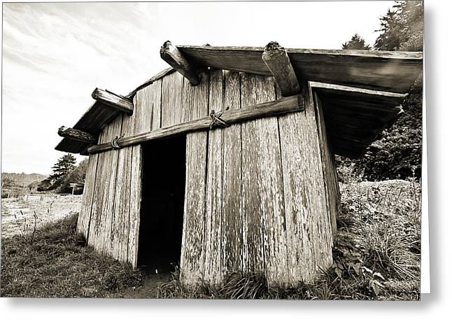 American Food Photographs Greeting Cards - Klamath Fish Shack Greeting Card by Scott Pellegrin