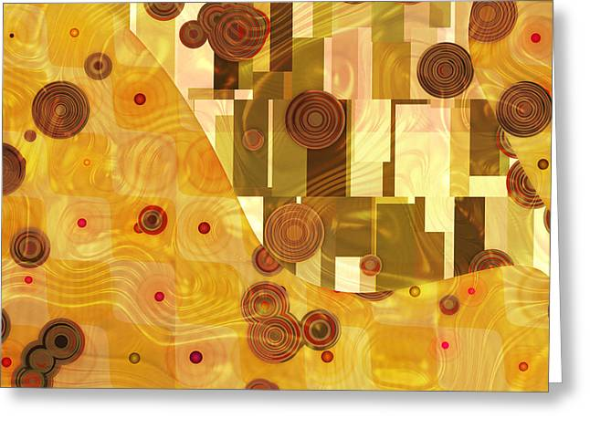 Home Decor Greeting Cards - Klimtonia Decor Greeting Card by Home Decor