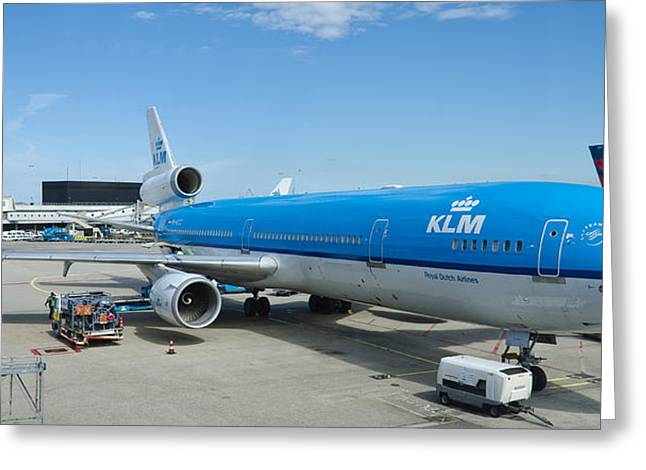 Klm Greeting Cards - Klm Greeting Card by Pablo Lopez