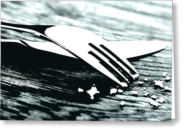 Knife And Fork Greeting Card by Blink Images