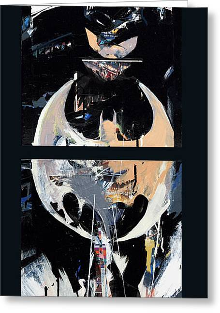 Best Sellers -  - Book Cover Art Greeting Cards - Knight 1... My City Greeting Card by David Leblanc