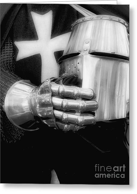 Canadian Photographer Greeting Cards - Knight 2 Greeting Card by Bob Christopher