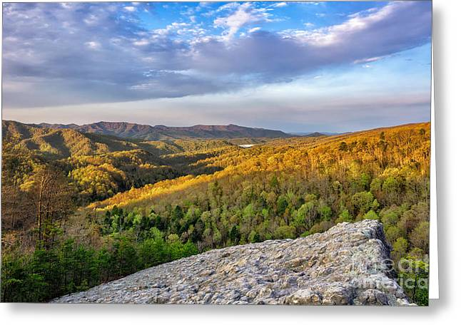Knobby Greeting Cards - Knobby Rock  Greeting Card by Anthony Heflin