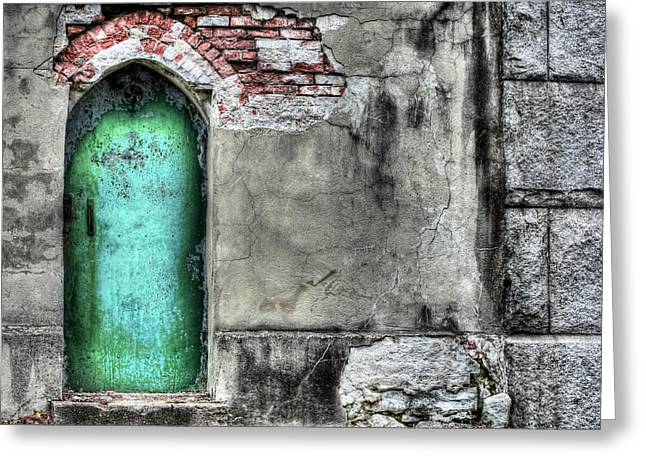 Knock Knock Greeting Card by JC Findley