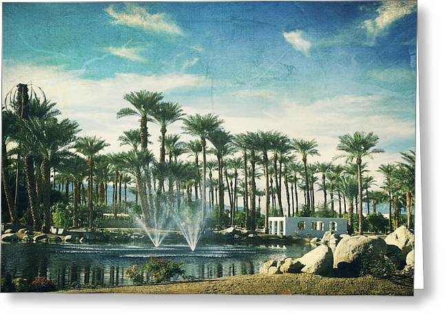 Fountain Digital Art Greeting Cards - Knowing What Matters Greeting Card by Laurie Search