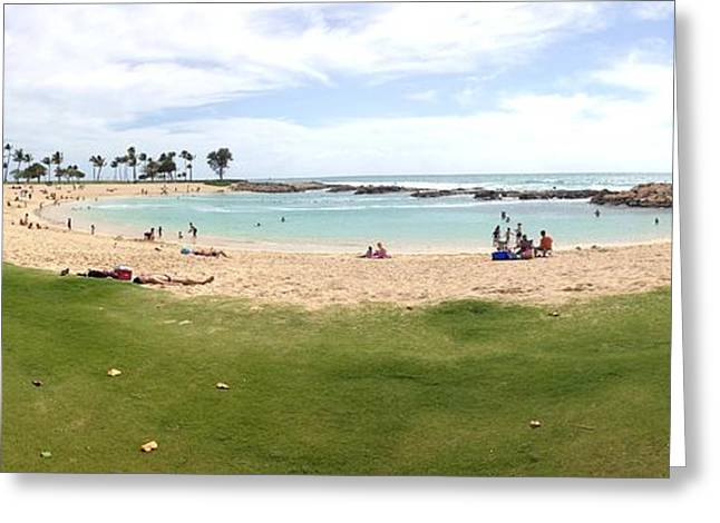 Ko Olina Lagoon Greeting Card by Gary Smith