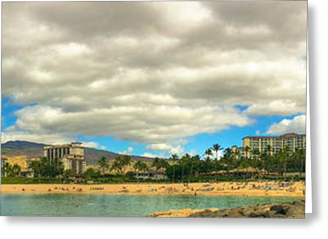 Ko Olina Lagoon Greeting Cards - Ko Olina Lagoons Greeting Card by Anthony J Wright