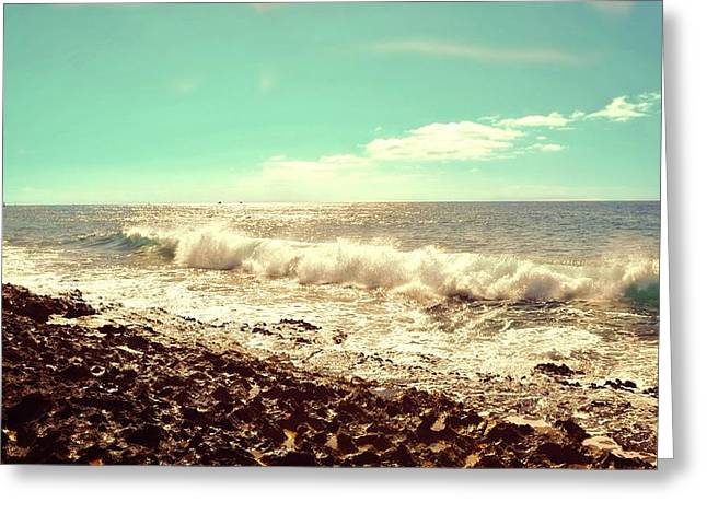 My Ocean Greeting Cards - Ko Olina Shoreline 2 Greeting Card by Brandy Muses