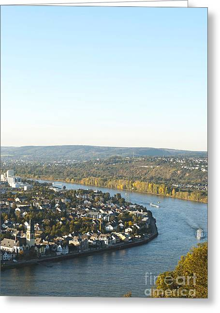 Town Mixed Media Greeting Cards - Koblenz Greeting Card by Design Windmill