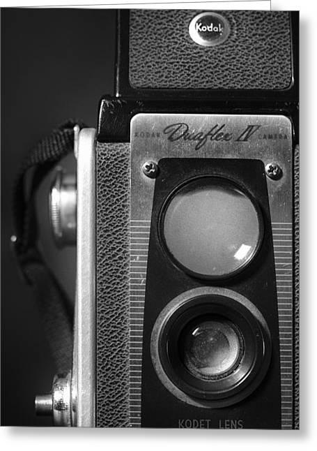 Camera Pyrography Greeting Cards - Kodak Detail Greeting Card by Jeff Urbanchuk