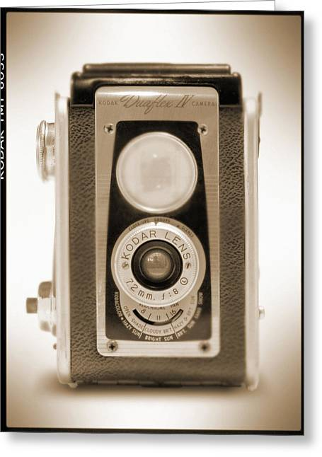 Kodak Duaflex Iv Camera Greeting Card by Mike McGlothlen