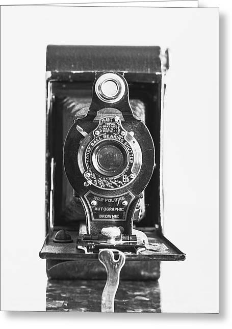 Kodak No. 2 Folding Autographic Brownie Camera Greeting Card by Jon Woodhams