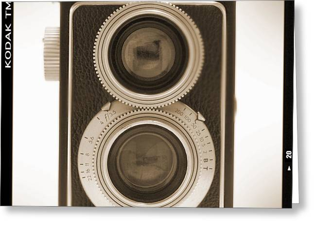 Kodak Reflex Camera Greeting Card by Mike McGlothlen