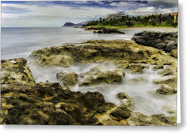 Ko Olina Lagoon Greeting Cards - Kohola Lagoon Greeting Card by Rod Sterling