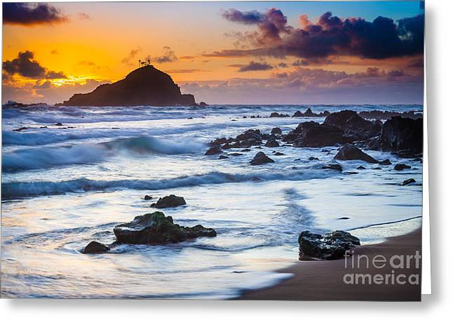 Harmonious Greeting Cards - Koki Beach Harmony Greeting Card by Inge Johnsson
